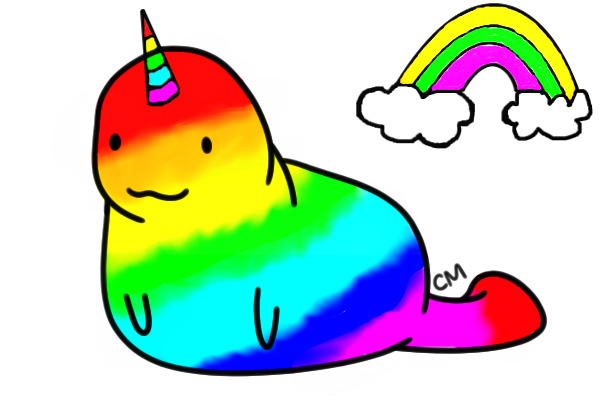 Rainbow Animated Narwhals View topic - Rainbow n...