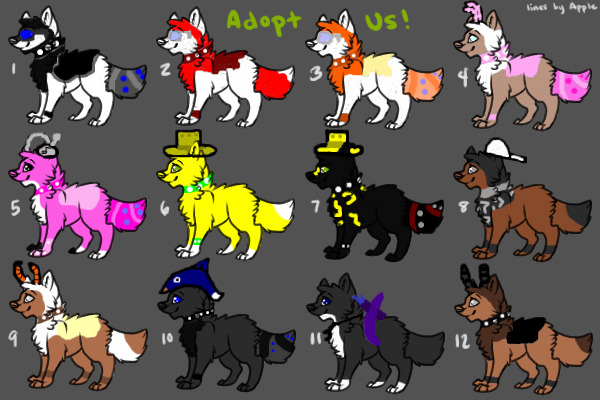 Animal Jam Characters Drawings Animal Jam Animals by Shiba