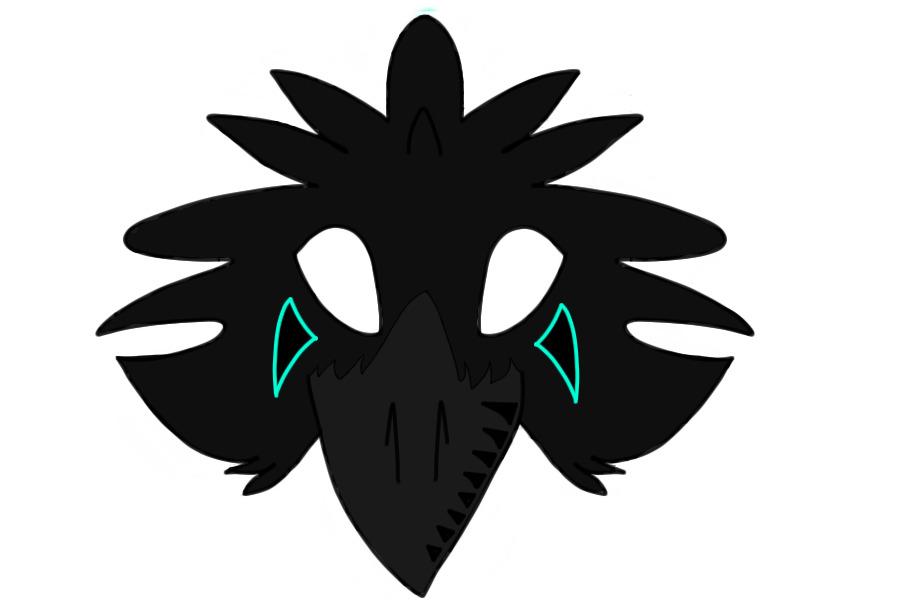 Как сделать маску вороны из бумаги фото - ЗНАТНЫЙ ПЛОТНИК