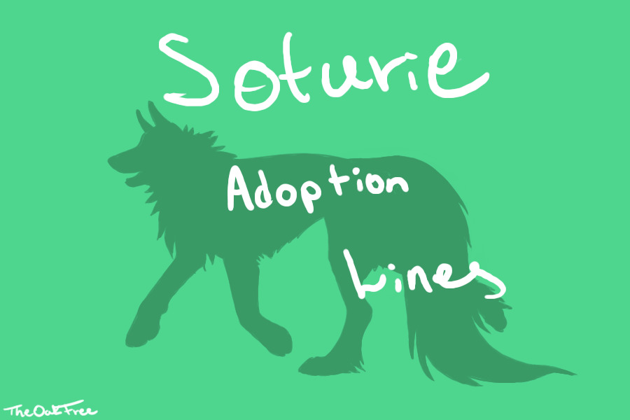BRAND NEW ADOPTION LINES, YES! - and a note Image