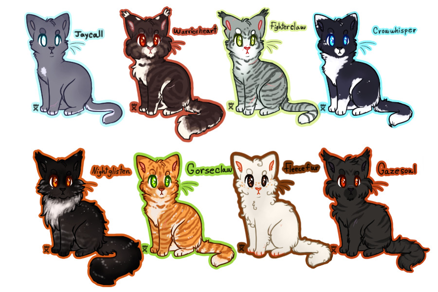 Free Warrior Cats Icons