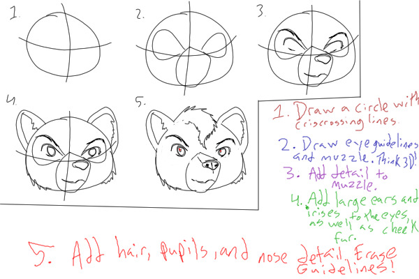 View Topic Bear Anthro Head Tutorial Chicken Smoothie