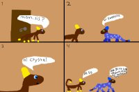 Yellow Sapphire and Sandy comic 5#