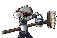 Janitor Ninja Sheep