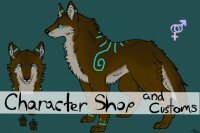 Wolf Character Adopts and Customs