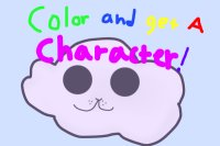 Color and get a character!