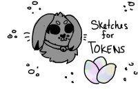 Sketches for tokens