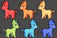 Puppy Adopts Editable by Tealea