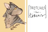 ❖ sketches for tokens! (open)