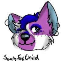 Meh Color in ( Line Art Done By ScaryFoxChild)