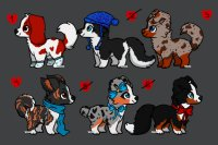 Natural Winter Dog Adopts #3- TWO LEFT