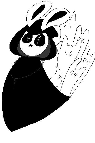 Mac 137 Long Blending Brush: Poncho Pal SE #137 -Mac's Reaper Rabbit