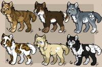 Spotted dog adopts! (All closed!)
