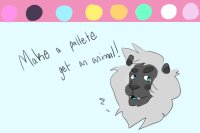 Edit of Draw a Pallete, get an animal