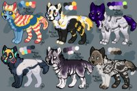Canine Adopts Set 2 [3/6 OPEN]
