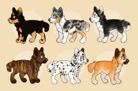Dog Adoptables (shalusky's lines) [0/6 available]