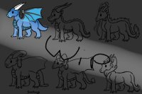 WIP Dragon Adoptables