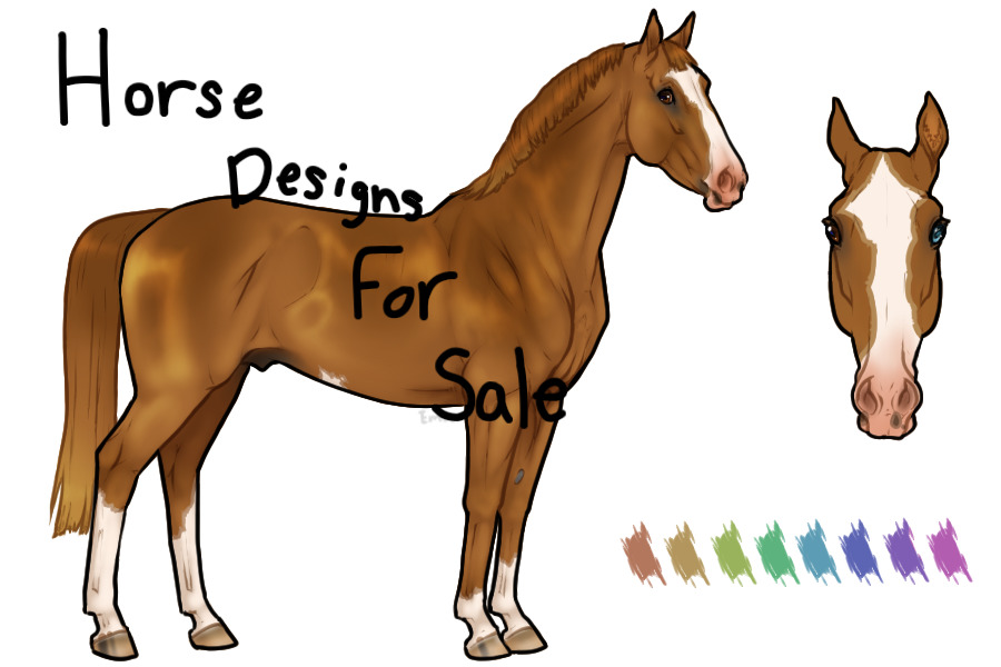 Horse Designs For Sale