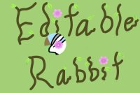 Rabbit || Editable!