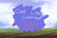 Cat Line competition! Gearback prize!