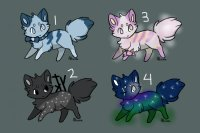 Color a crystal, get a fox! ~ Group 2