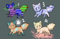 Color a crystal, get a fox! ~ Group 4