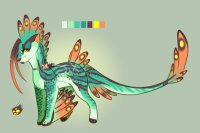 Tropic feathers - Closed adopt
