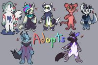 Assorted Anthro Adopts!!