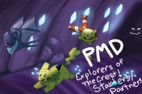 PMD Explorers of the Crest! Starters/Partners