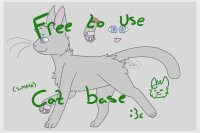 Cat base editable!