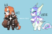 vice & virtue,, adopts [CLOSED]