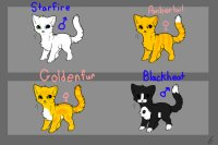 CLOSED Free Warrior Cats Up For Adoption