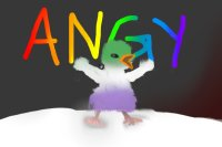 angy birb says gay rights