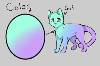 OPEN - Color the Oval, Get a Cat!