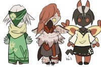 Pokemon Gijinka Adopts