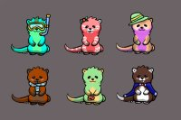 Otter adopts for sale!