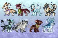 Winter Adopts | Open! (1/8)|